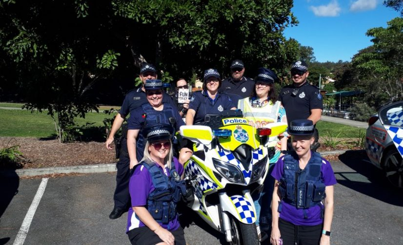 Ferny Grove Police Visit Child Care Centre in Albany Creek